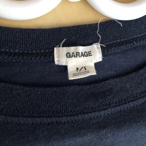 Garage Tops - Cropped t shirt from garage size small